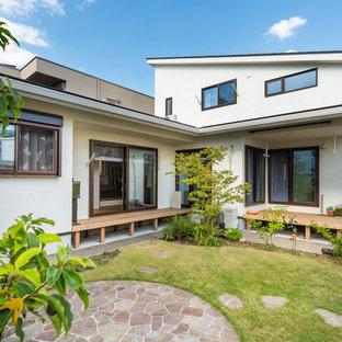 名古屋のエクレクティックスタイルのおしゃれな庭の写真