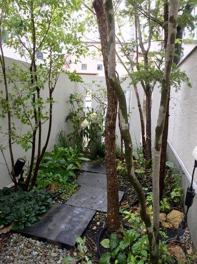 庭 by fan景観設計
