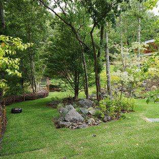 他の地域のカントリー風おしゃれな中庭の写真