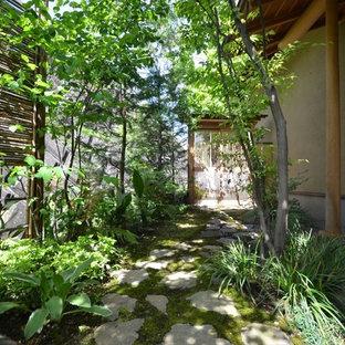 和風のおしゃれな庭の写真
