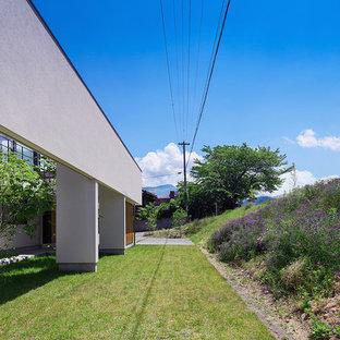 他の地域のコンテンポラリースタイルのおしゃれな庭 (日向) の写真