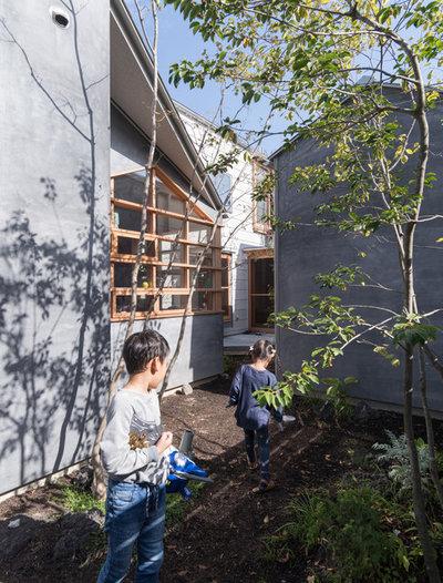 コンテンポラリー 庭 by 間工作舎/一級建築士事務所