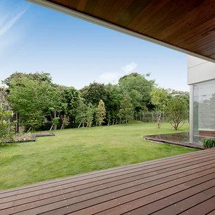 Design ideas for a scandinavian landscaping in Tokyo.