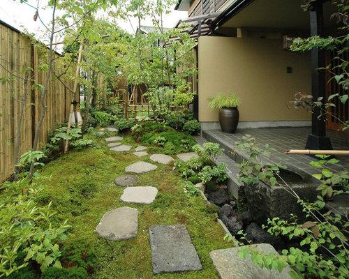 Mulch Landscaping Ideas Design Photos Houzz - Mulch patio ideas
