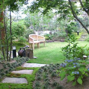 福岡のヴィクトリアン調のおしゃれな庭 (日向) の写真