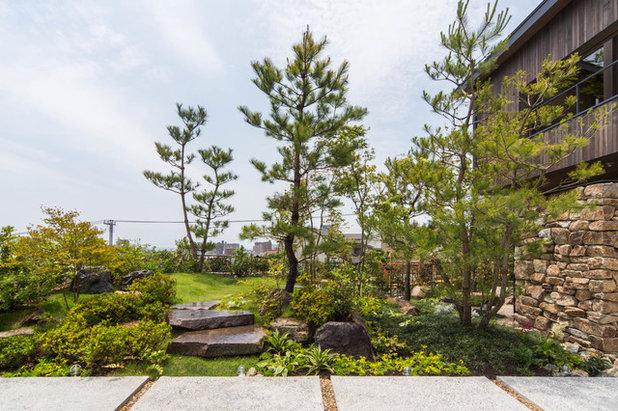 和室・和風 庭 by 株式会社  荒木造園設計