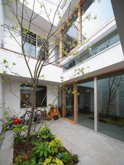 モダン 庭 by 樋口章建築アトリエ一級建築士事務所