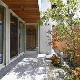 名古屋の和風のおしゃれな庭の写真