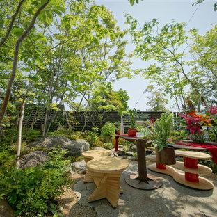 他の地域のアジアンスタイルの庭・ランドスケープの画像 (整形式庭園、日向)