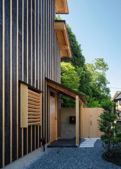 モダン 庭 by 髙橋勝建築設計事務所一級建築士事務所