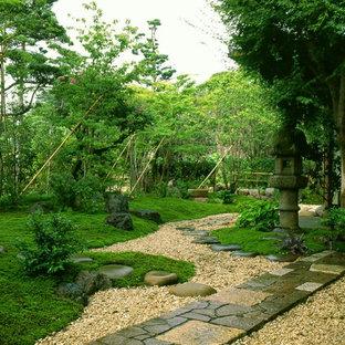 福岡の和風のおしゃれな庭の写真
