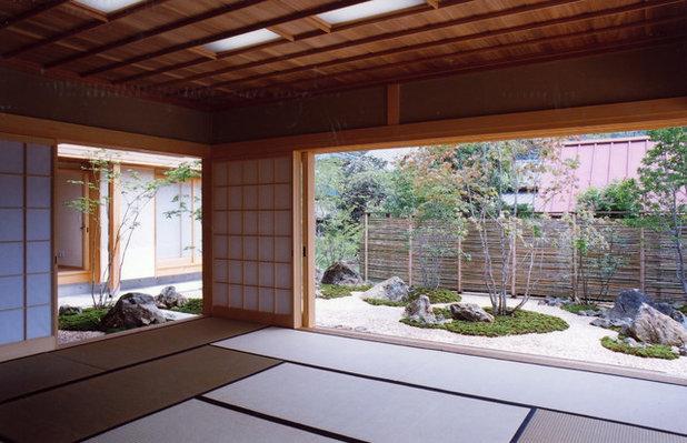 和室・和風 庭 by ㈱瀬戸漆喰本舗