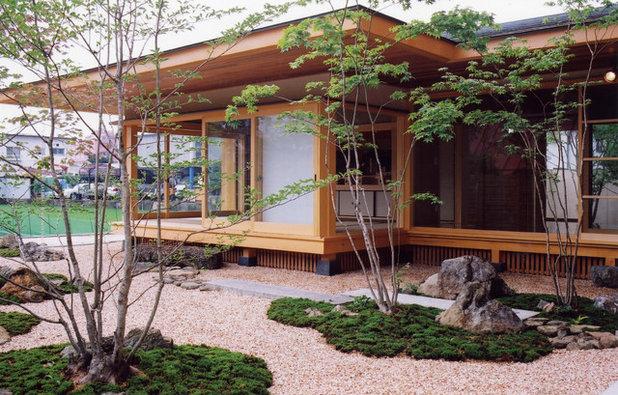 Japonés Jardín by ㈱瀬戸漆喰本舗