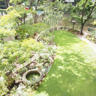 神戸のモダンスタイルのおしゃれな庭の写真