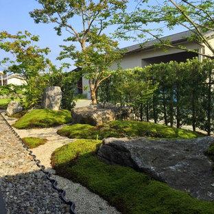 他の地域の和風のおしゃれな庭・ランドスケープの写真