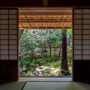 東京23区のアジアンスタイルのおしゃれな庭の写真