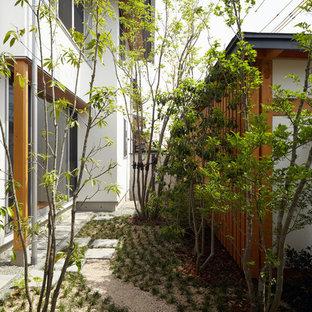 他の地域のアジアンスタイルの中庭の画像 (整形式庭園)