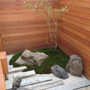 京都の和風のおしゃれな庭の写真