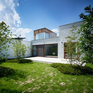 東京23区のインダストリアルスタイルのおしゃれな庭 (半日向) の写真