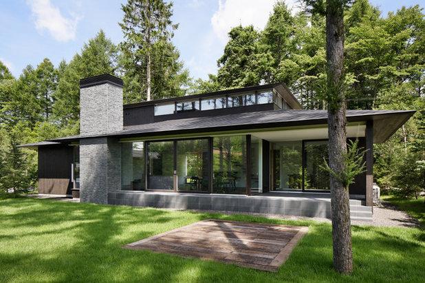 トラディショナル 庭・ランドスケープ by アトリエ137 | atelier137 Architectural Design Office