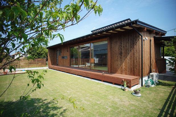 コンテンポラリー 庭 by 住生活空間株式会社 ウッドレーヴ