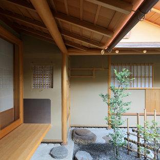 京都の小さいアジアンスタイルの庭・ランドスケープの画像
