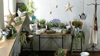 chambre 5 - garden & green