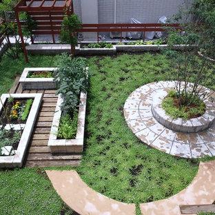 Создайте стильный интерьер: солнечный огород на участке в восточном стиле с освещенностью - последний тренд