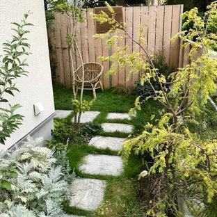 東京23区のインダストリアルスタイルのおしゃれな庭の写真