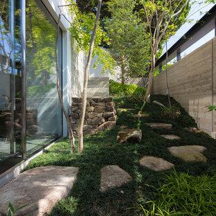 名古屋のモダンスタイルのおしゃれな庭の写真