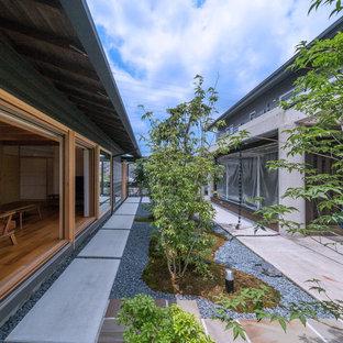 名古屋のアジアンスタイルのおしゃれな庭の写真