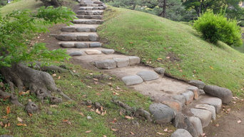 K庭園 石段補修工事