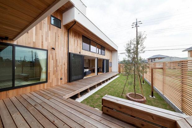 コンテンポラリー 庭 by 株式会社住工房スタイル