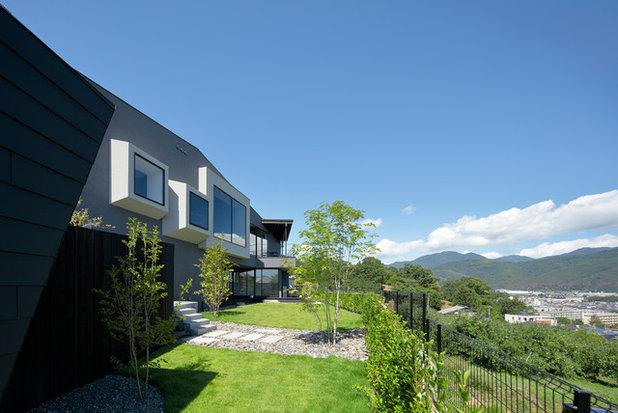 モダン 庭 by CUBO design architect