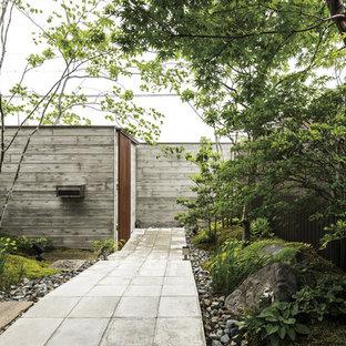 大阪の和風のおしゃれな庭の写真