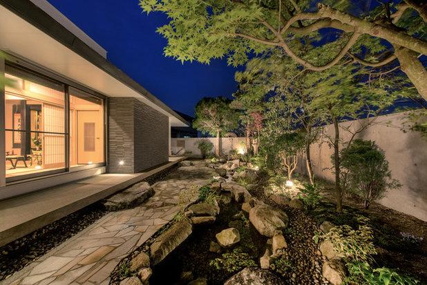 アジアン 庭 by シコウ + デ + サイン 一級建築士事務所.