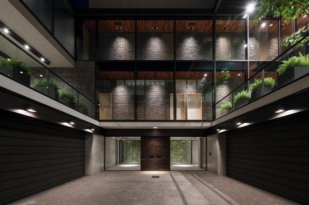 コンテンポラリー 庭 by 建築設計事務所バケラッタ