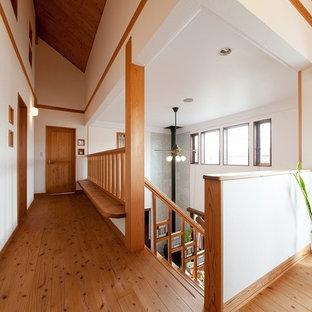 名古屋のカントリー風おしゃれな廊下の写真