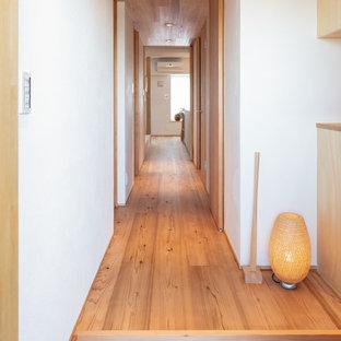 他の地域の北欧スタイルのおしゃれな廊下の写真