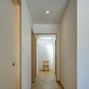 名古屋の北欧スタイルのおしゃれな廊下の写真