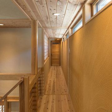 中2階の回廊