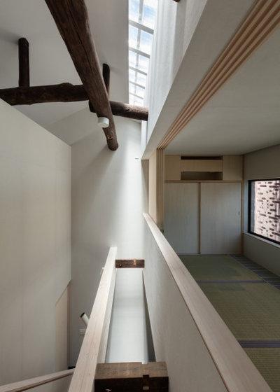 モダン 廊下 by 株式会社一級建築士事務所STUDIO MONAKA