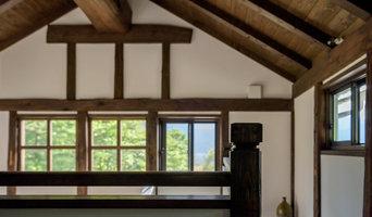 信州・大町の土蔵の古材を使った新築