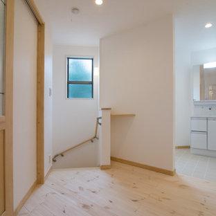 台形の変形地に建つ安心して暮らせる、シェルターのような家