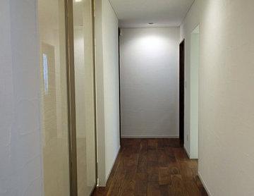寝室に向かう廊下