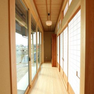 他の地域の和風のおしゃれな廊下の写真