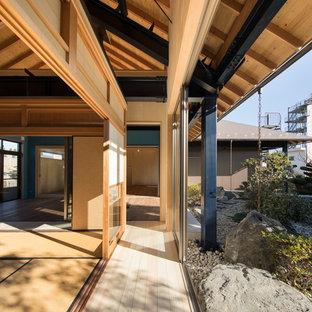 名古屋の和風のおしゃれな廊下の写真
