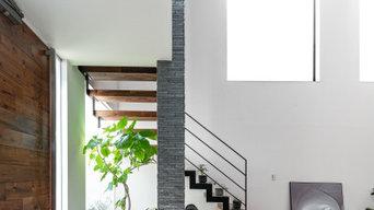 アートな空間をつくり出す都心の家