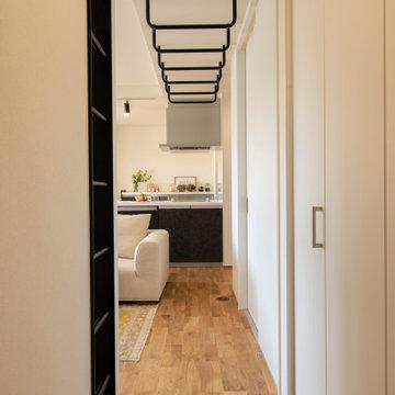 香川県高松市に建つ、「あそび心満載の平屋のお家」のうんてい