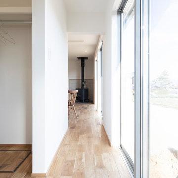 香川県高松市に建つ、「あそび心満載の平屋のお家」